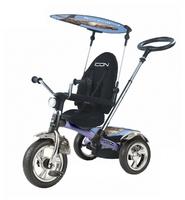 Трехколесный велосипед RT ICON 3 Silver Blue Puma