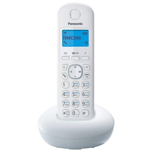 Радиотелефон Panasonic KX-TGB210 белый радиотелефон