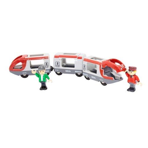 Купить Brio Поездной состав Пассажирский поезд-экспресс , 33505, Наборы, локомотивы, вагоны