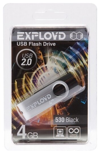 Флешка EXPLOYD 530 4GB