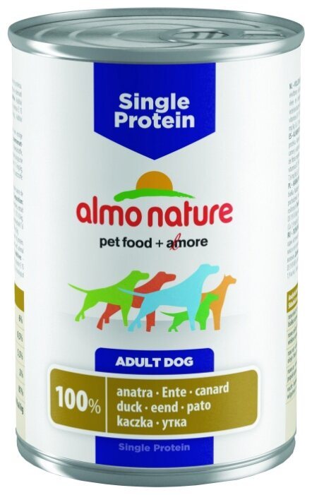 Корм для собак Almo Nature Single Protein Duck