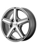 American Racing 8x18/5x120 ET40 D74,1 AR883 Anthracite/Machined Диск - фото 1