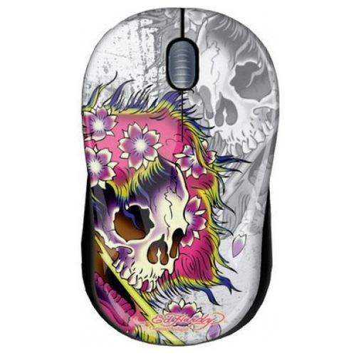 Мышь Ed Hardy Wired mouse Ghost White USB