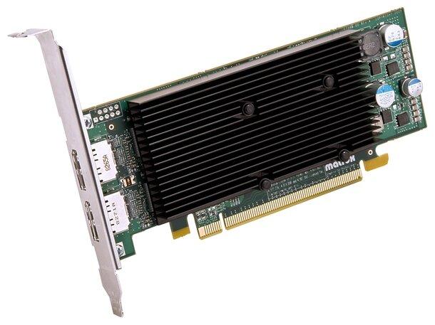 Matrox Видеокарта Matrox M9128 PCI-E 1024Mb 64 bit Low Profile