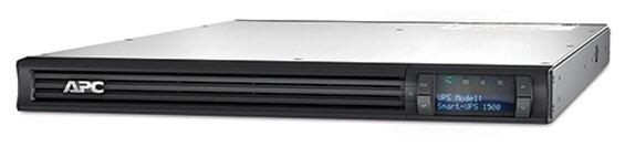 APC by Schneider Electric Smart-UPS 1500VA LCD RM 1U 230V