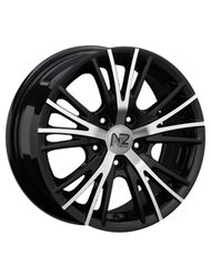 NZ Wheels SH611 6.5x15 5x114.3 ET 40 Dia 73.1 BKF - фото 1