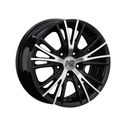 Фото - Колесный диск NZ Wheels SH611 6x14/4x98 D58.6 ET35 BKF колесный диск nz wheels sh665 5 5x14 4x98 d58 6 et35 bkf