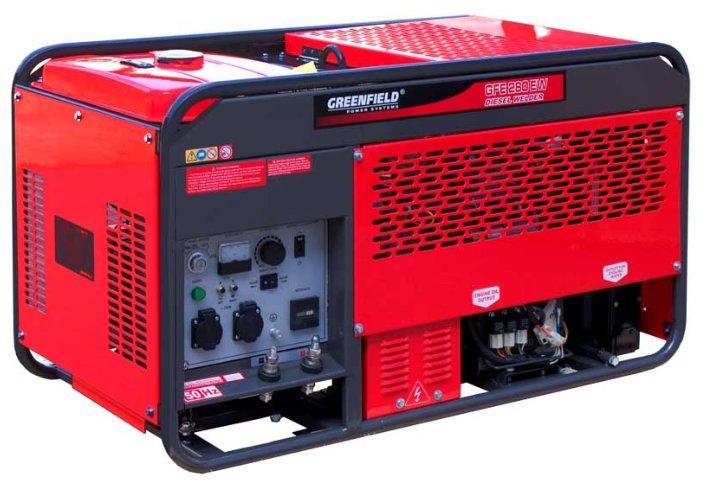 Дизельный генератор Green Field GFE-280 EW (5000 Вт)