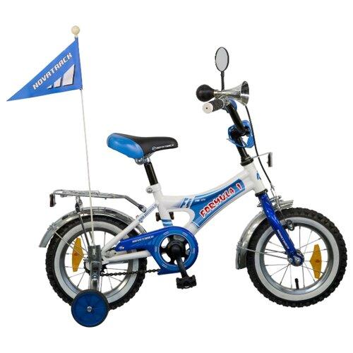 цена на Детский велосипед Novatrack Formula 12 (2015) синий (требует финальной сборки)