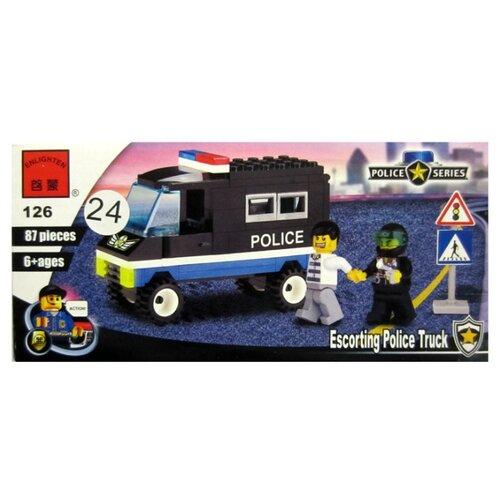 Купить Конструктор Qman Police 126 Сопровождение, Конструкторы