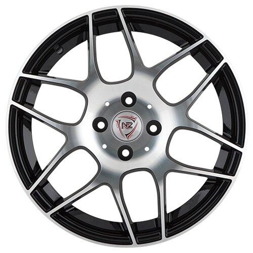 Фото - Колесный диск NZ Wheels F-32 6x15/4x100 D54.1 ET48 BKF колесный диск nz wheels sh662 6x15 4x100 d54 1 et48 sf