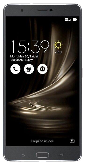 Сотовый телефон ASUS ZenFone 3 Ultra ZU680KL 64Gb Silver