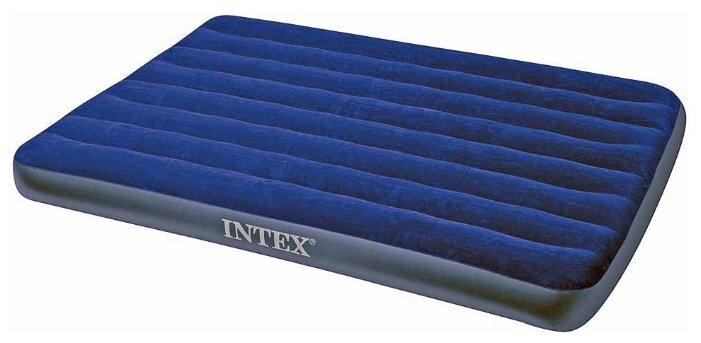 Надувная мебель Надувной матрас Intex 68758 полуторный (без насоса) (137х191х22)