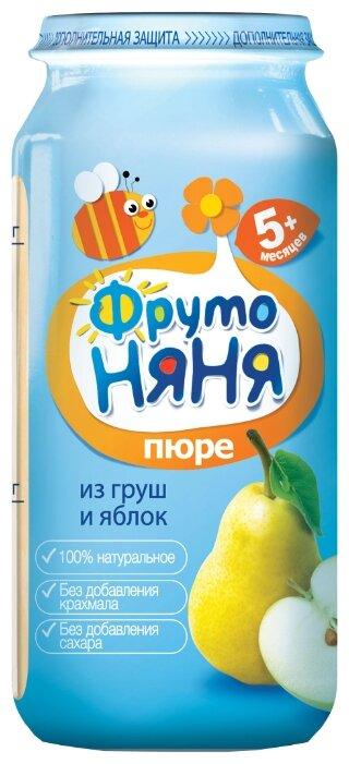 Пюре ФрутоНяня из груш и яблок (с 5 месяцев) 250 г, 12 шт.