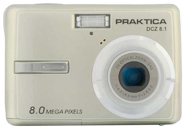 Фотоаппарат Praktica DCZ 8.1