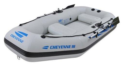Надувная лодка Jilong Cheyenne III 400 set Jl007108n белый