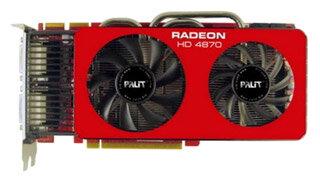 Palit Radeon HD 4870 775Mhz PCI-E 2.0 1024Mb 4000Mhz 256 bit 2xDVI TV HDCP YPrPb