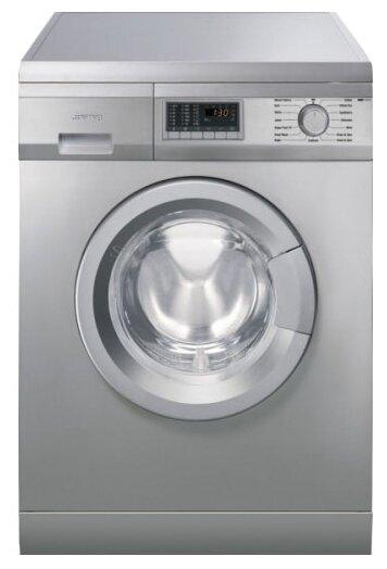 Отдельностоящая стиральная машина SLB147X, Smeg