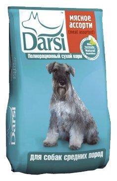 Darsi (10 кг) Сухой корм для собак средних пород