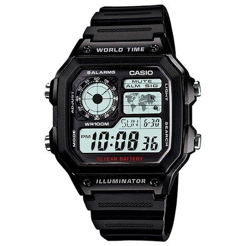 Фото - Наручные часы CASIO AE-1200WH-1A ae 2000w 1a