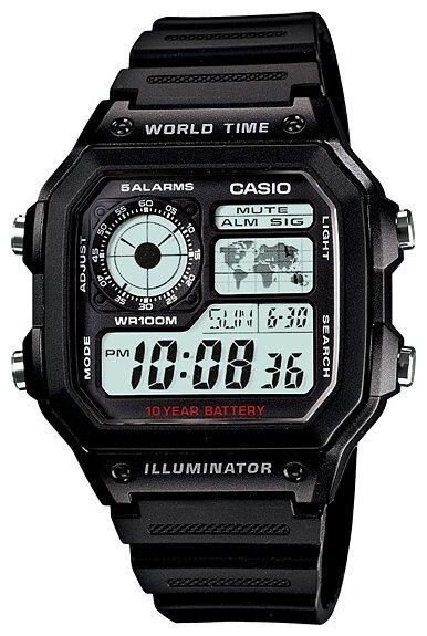 Мужские часы Casio AE-1200WH-1A / AE-1200WH-1AVEF