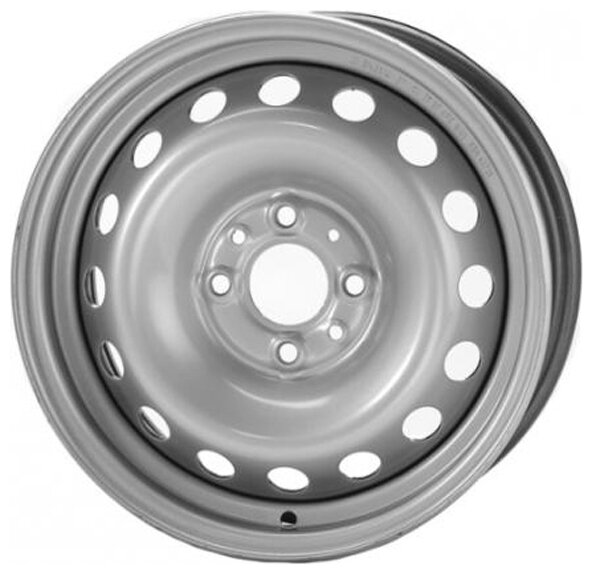 Диски R15 5x100 6,0J ET38 D57,1 Magnetto 15007 Black VW Polo