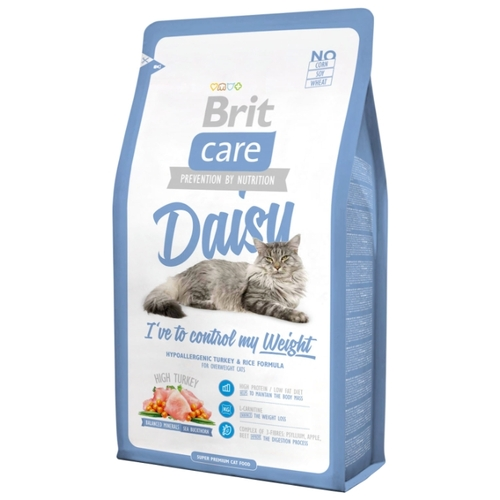 Brit Care Daisy I've to control my Weight (0.4 кг) Корма для кошек