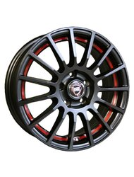 NZ Wheels F-23 MBRSI 6x15/4x100 D54.1 ET46 - фото 1