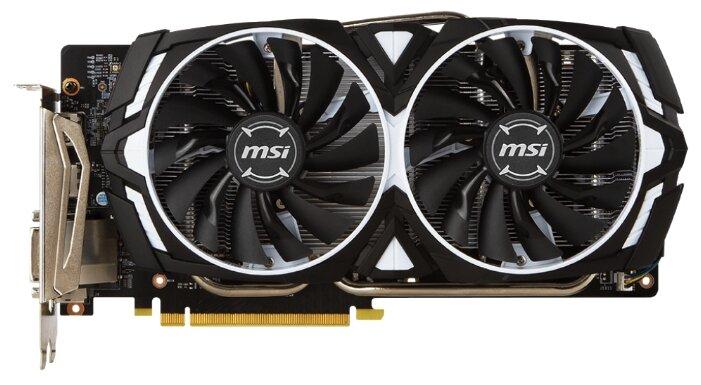 MSI GeForce GTX 1060 1544Mhz PCI-E 3.0 6144Mb 8008Mhz 192 bit DVI 2xHDMI HDCP