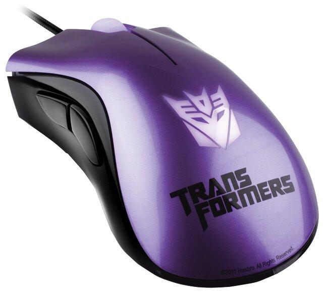 Мышь Razer DeathAdder Transformers 3 Shockwave Violet USB