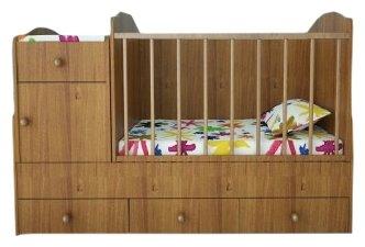Кроватка Lanami Mila (трансформер)