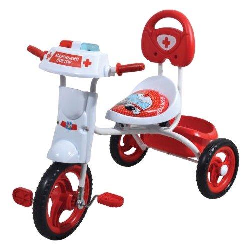 Трехколесный велосипед 1 TOY Т57612 Спецслужбы