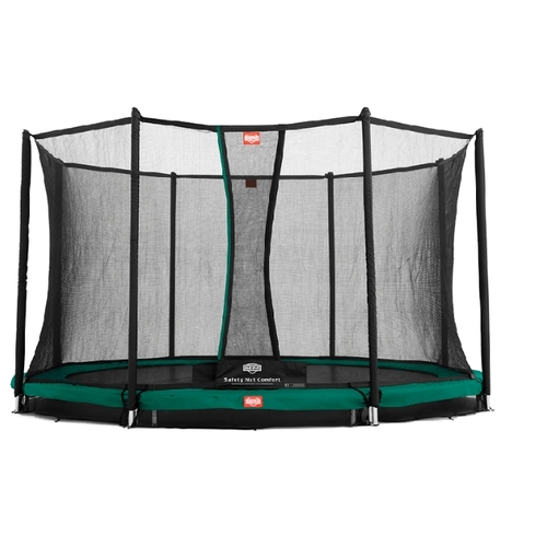 Каркасный батут Berg InGround Champion + Safety Net Comfort 380