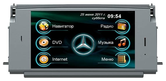 Synteco Mercedes C200 (W204) 2006–2010 SRT