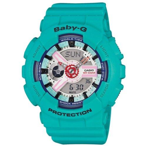 цена Наручные часы CASIO BA-110SN-3A онлайн в 2017 году