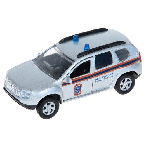 Купить Внедорожник Autotime (Autogrand) Renault Duster МЧС (49479) 1:38 серебристый / синий / черный / оранжевый, Машинки и техника