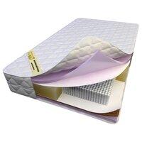 Матрас Luntek HR Medium Soft Revolution Micro (2000 пружин на сп.м.) - пружинный ортопедический матрас средней жесткости с кокосовой койрой и искусственным латексом 80Х200