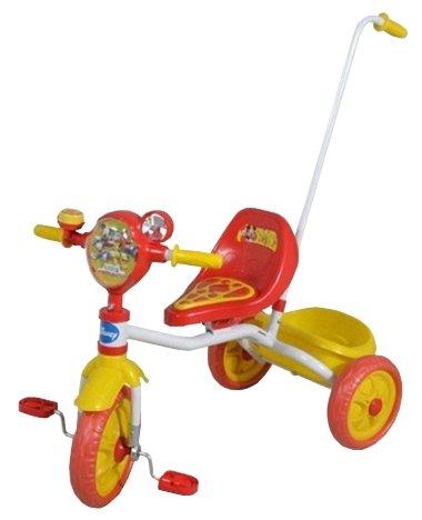 Трехколесный велосипед 1 TOY Т55904 Disney