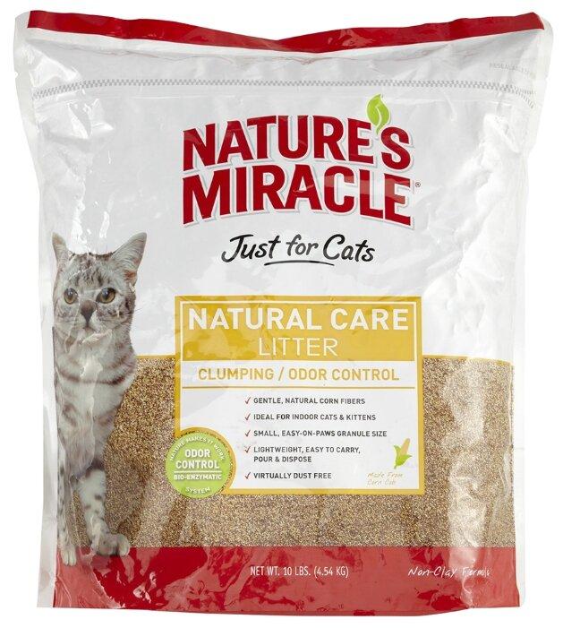 Наполнитель Nature's Miracle Natural Care Cat Litter (4.54 кг)