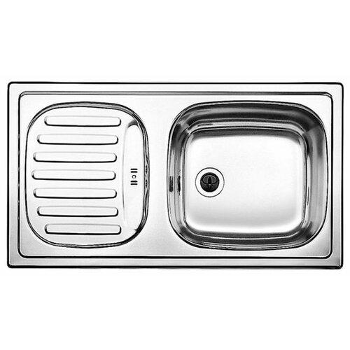 Фото - Врезная кухонная мойка 78 см Blanco Flex Mini нержавеющая сталь/матовая кухонная мойка blanco flex mini 511918