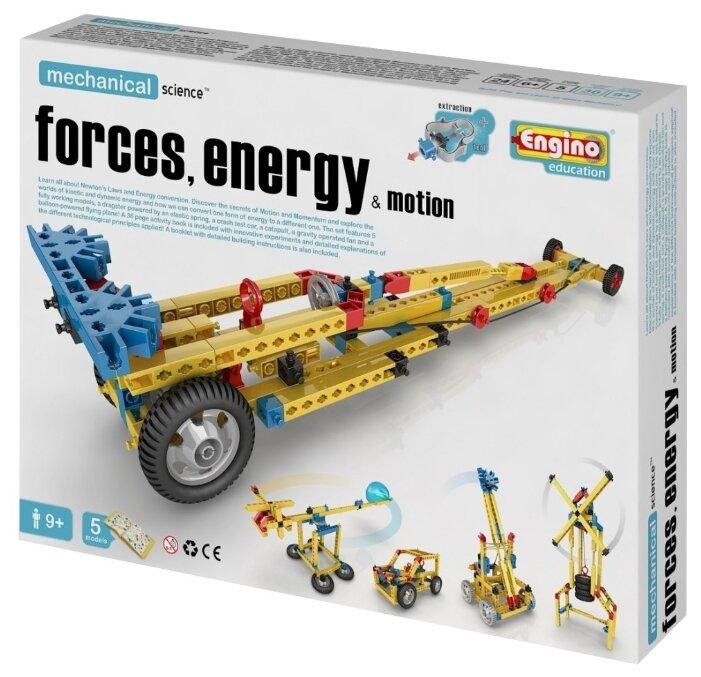"""Конструктор """"MECHANICAL SCIENCE. Сила, энергия и движение"""" (Engino M11)"""