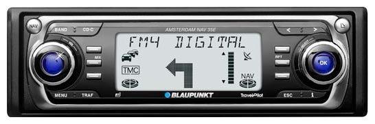Автомагнитола Blaupunkt TravelPilot Amsterdam NAV35E