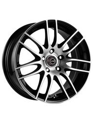 Racing Wheels H-478 6.5x15 4x114.3 ET 40 Dia 67.1 BK F/P - фото 1