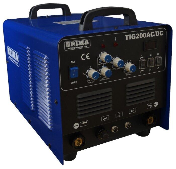 Сварочный аппарат BRIMA TIG 200 AC/DC