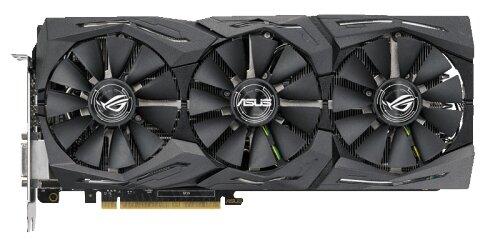 Видеокарта ASUS GeForce GTX 1080 Ti 1493MHz PCI-E 3.0 11264MB 11010MHz 352 bit DVI 2xHDMI HDCP Strix Gaming