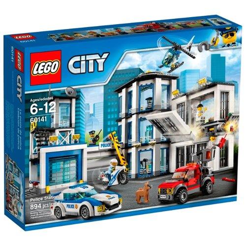 Купить со скидкой Конструктор LEGO City 60141 Полицейский участок