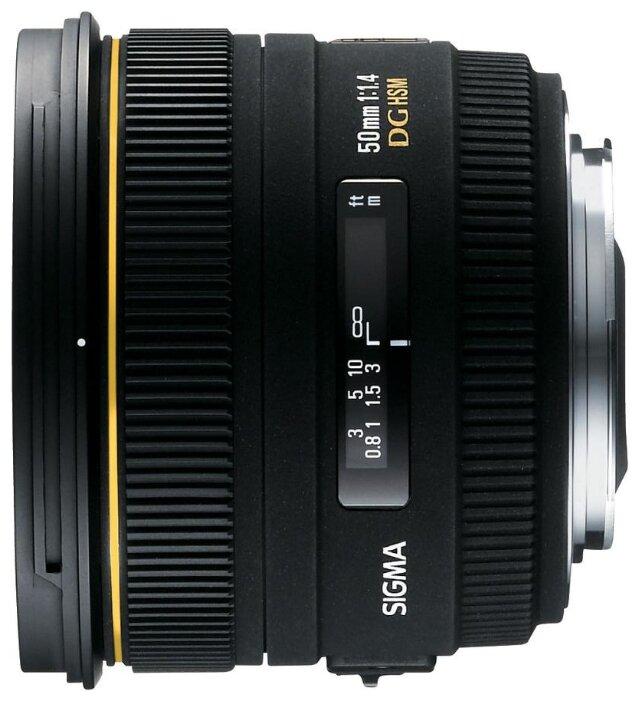 Sigma AF 50mm f/1.4 EX DG HSM Nikon F