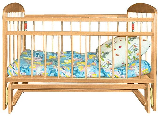Кроватка Уренская Мебельная Фабрика Мишутка 11 (поперечный маятник)