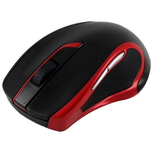 Мышь Oklick 620 LW Wireless Optical Mouse Black-Red USB