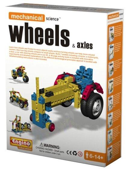 Конструктор ENGINO Mechanical Science M03 Wheels&Axles